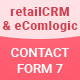 Contact Form 7 – retailCrm & eComlogic – Lead Generation (Forms)