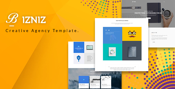 Bizniz – Creative Agency HTML Template - Business Corporate