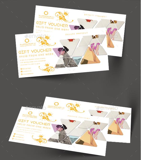 Gift Voucher - Cards & Invites Print Templates