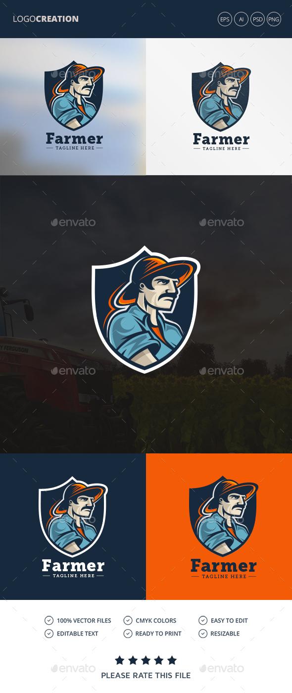 Farmer Logo - Humans Logo Templates