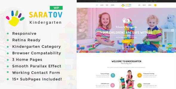 saratov - day care & kindergarten school wordpress theme (education) Saratov – Day Care & Kindergarten School WordPress Theme (Education) 00 Saratov HTML Preview