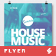 Summer House Music - Flyer / Poster Template A3 - GraphicRiver Item for Sale