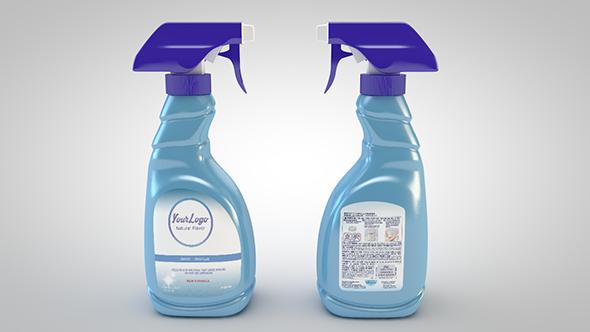 Spray Bottle - 3DOcean Item for Sale
