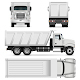 Dump Truck Vector Template - GraphicRiver Item for Sale