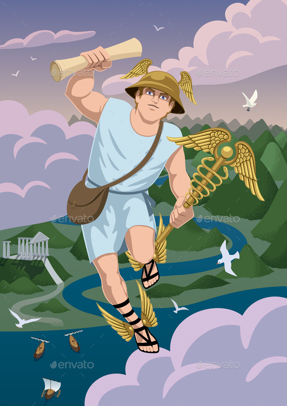 Hermes - Characters Vectors