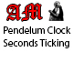 Pendelum Clock Seconds