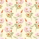 Watercolor Floral Summer Vector Pattern - GraphicRiver Item for Sale