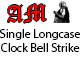 Single Longcase Clock Bell Strike