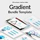 Gradient Bundle Google Slide Template Nulled
