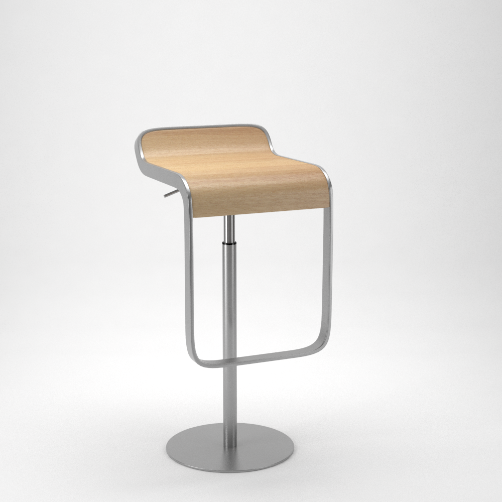 Lapalma lem bar stool by formd 3docean for Lem lapalma