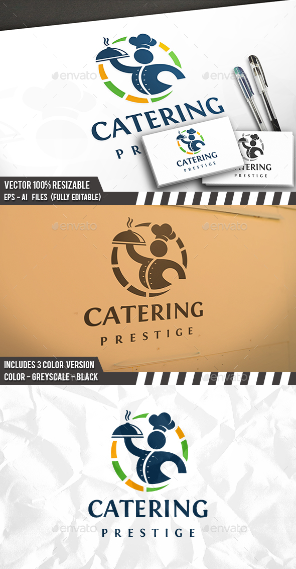 Food Service Logo - Restaurant Logo Templates