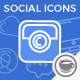 Social Media Icons - VideoHive Item for Sale