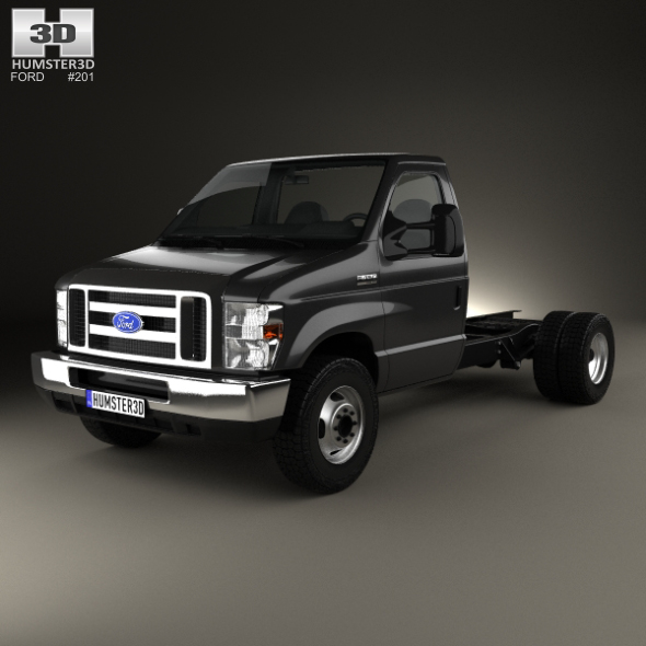 Ford E-450 Cutaway 2011 - 3DOcean Item for Sale