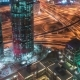 Aerial View of Downtown Dubai and Skyscrapers From the Tallest Building in the World, Burj Khalifa - VideoHive Item for Sale