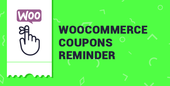 WooCommerce Coupons Reminder - CodeCanyon Item for Sale
