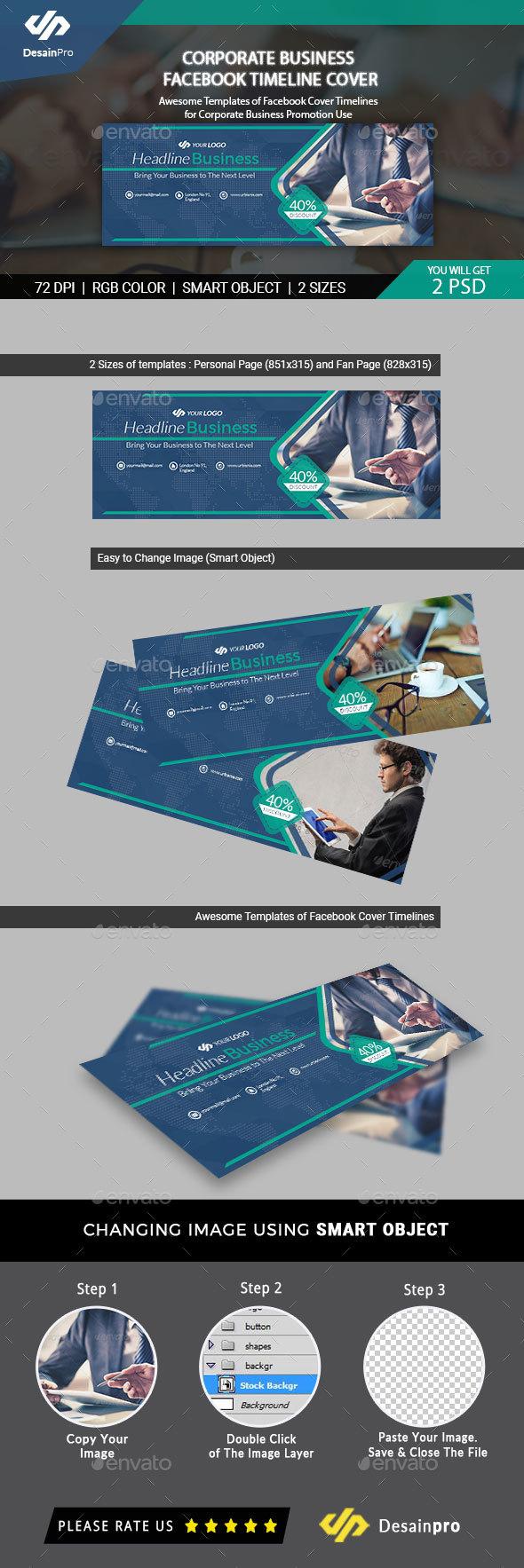 Corporate Business Facebook Timeline Cover - AR - Facebook Timeline Covers Social Media