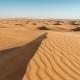 Shot of Sand Dunes at Sunrise, Arabian Desert, Dubai, UAE - VideoHive Item for Sale
