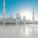 Panoramic  of Main Beautiful Sheikh Zayed Mosque in Abu Dhabi - VideoHive Item for Sale