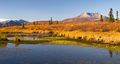 Ancient Volcano Sits Dormant Near Alaskan Pond - PhotoDune Item for Sale