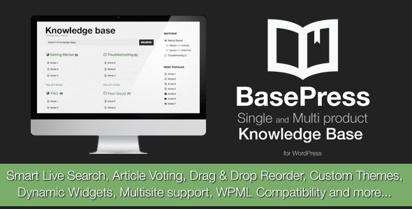 BasePress - WordPress Knowledge Base Plugin - CodeCanyon Item for Sale