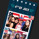 4th of July Photo Booth Template - GraphicRiver Item for Sale