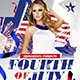 Fourth of July Flyer Template - GraphicRiver Item for Sale