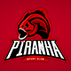 Piranha Mascot - GraphicRiver Item for Sale
