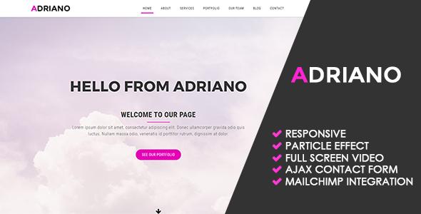 Adriano | Creative Multipurpose Template