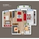Vector Top View Floor Plan of the House Room - GraphicRiver Item for Sale