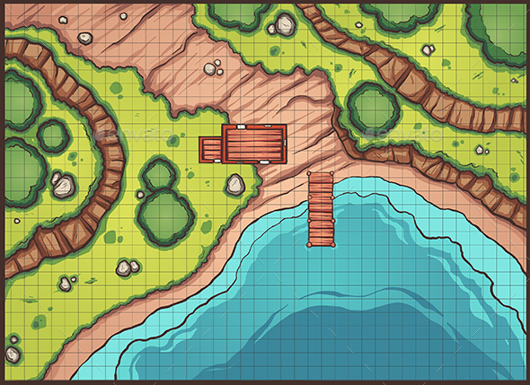 Forest Pier Map - Miscellaneous Characters