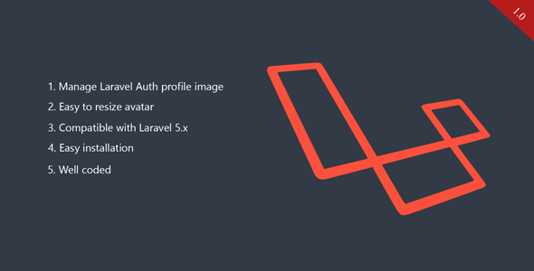 Laravel Avatar Management - Upload and Resize Profile Image
