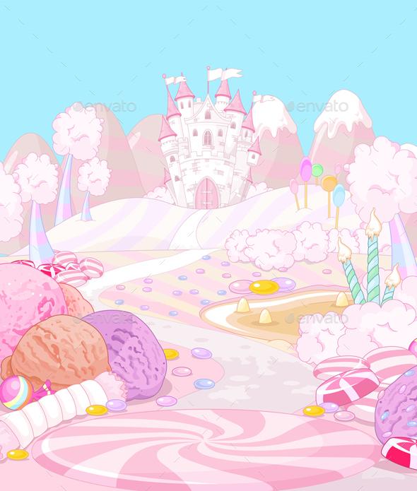 Candy Land - Landscapes Nature