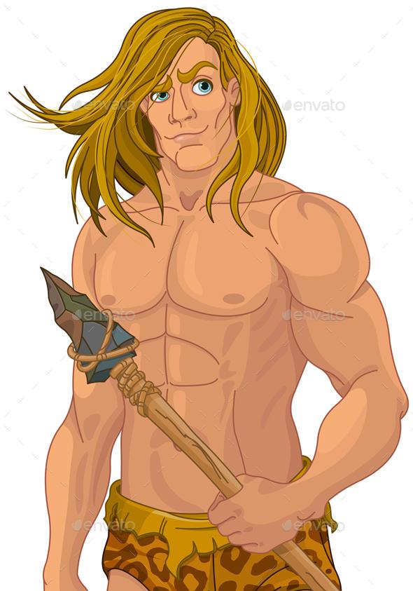 Tarzan - Characters Vectors