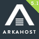 Arka Host - WHMCS Hosting, Shop & Corporate Theme Nulled