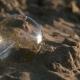 Light Bulb on the Sand Beach