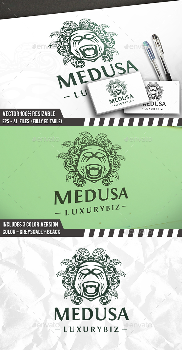 Medusa Head Logo - Humans Logo Templates