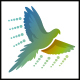 Dots Bird Flight Logo - GraphicRiver Item for Sale