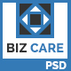 BIZ CARE - One Page Business Website PSD Template - ThemeForest Item for Sale