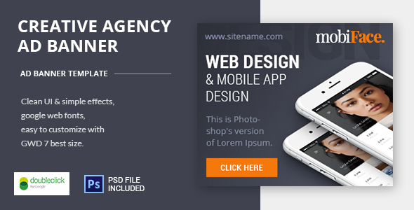 Creative Agency-HTML Animated Banner 01