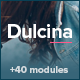 Dulcina - Responsive Email Template + Builder Nulled