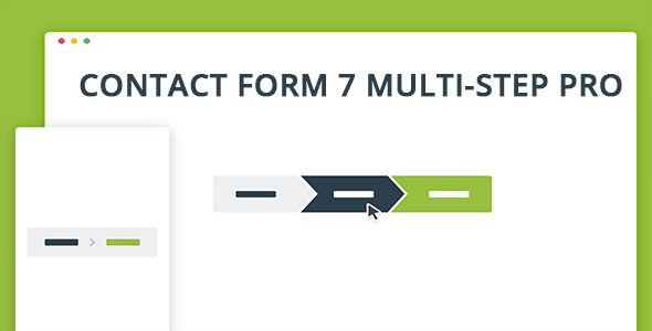 Contact Form 7 Multi-Step Pro - CodeCanyon Item for Sale