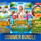 Summer Flyer Bundle V3 - GraphicRiver Item for Sale