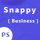 Snappy - Easy Startup Business PSD Template - ThemeForest Item for Sale