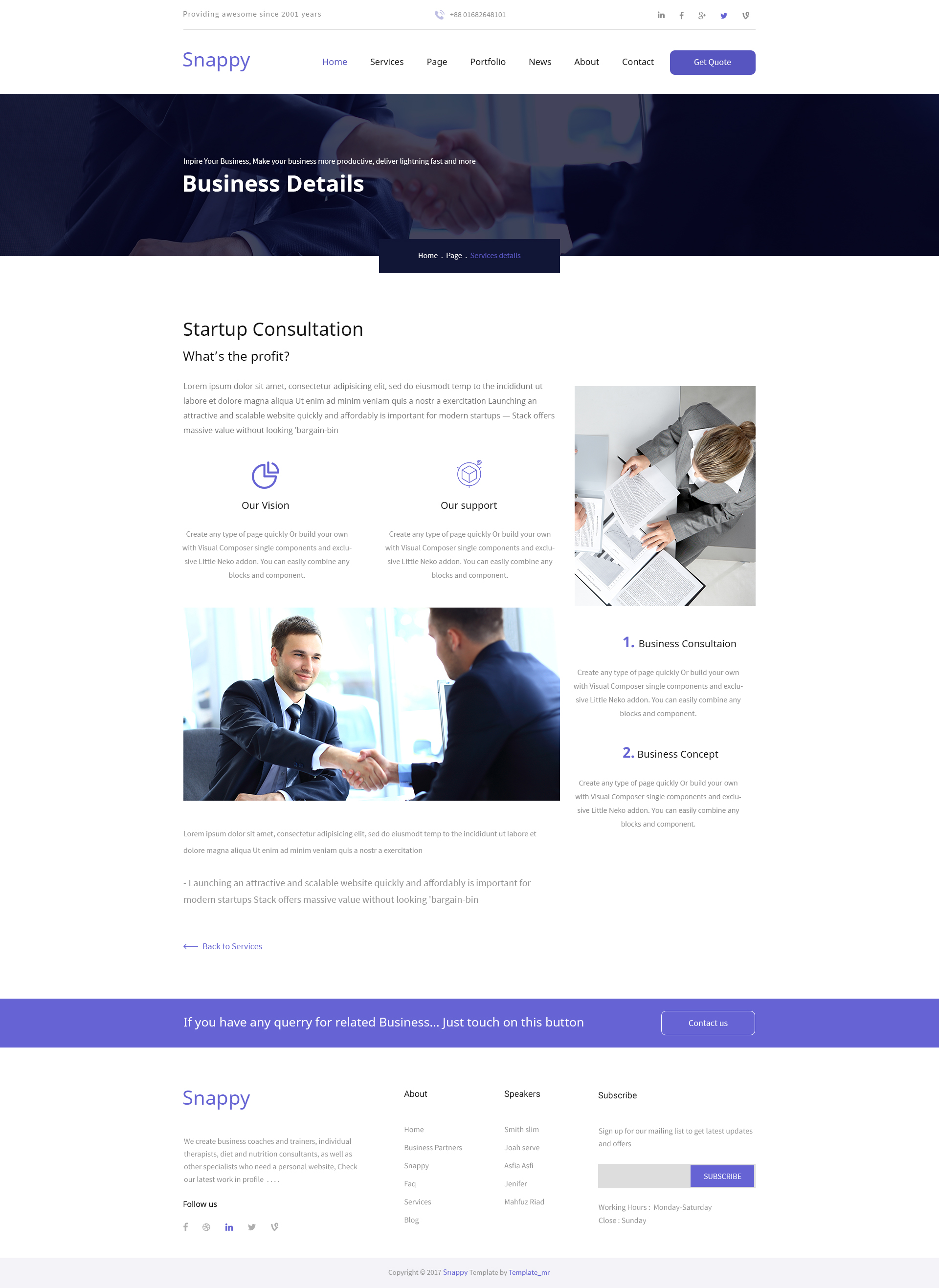 Snappy easy startup business psd template by templatemr themeforest snappy easy startup business psd template wajeb Choice Image