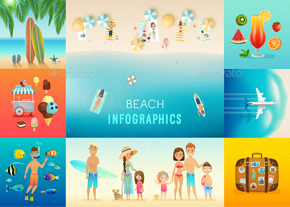 Beach Set - Travel Conceptual