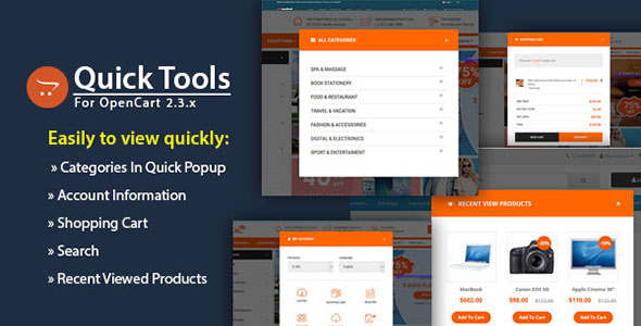 So Quick Tools - Responsive Quick View Tools Function for OpenCart 3 & 2.x Module - CodeCanyon Item for Sale