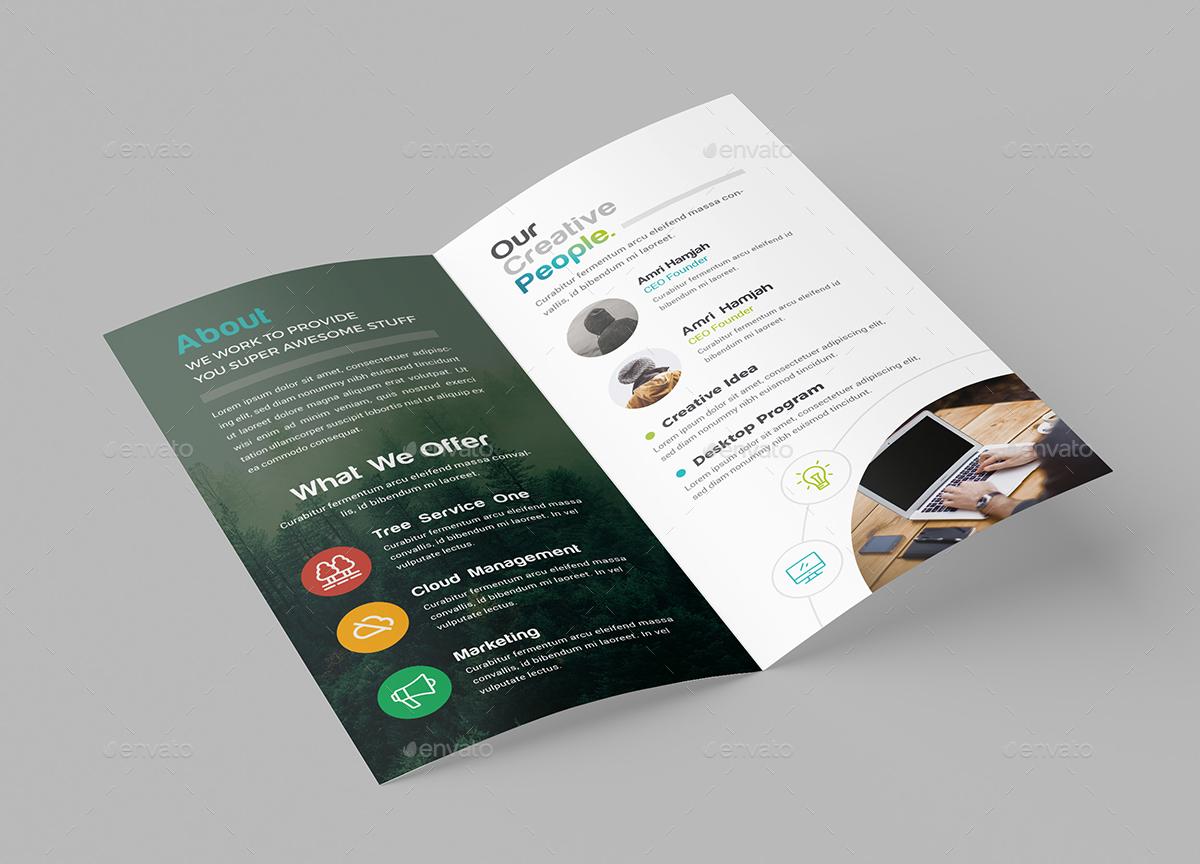 DL Bi-Fold Brochure by generousart | GraphicRiver