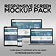 Responsive Screen Mockup Pack - GraphicRiver Item for Sale