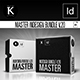 Master inDesign Bundle v.20 - GraphicRiver Item for Sale