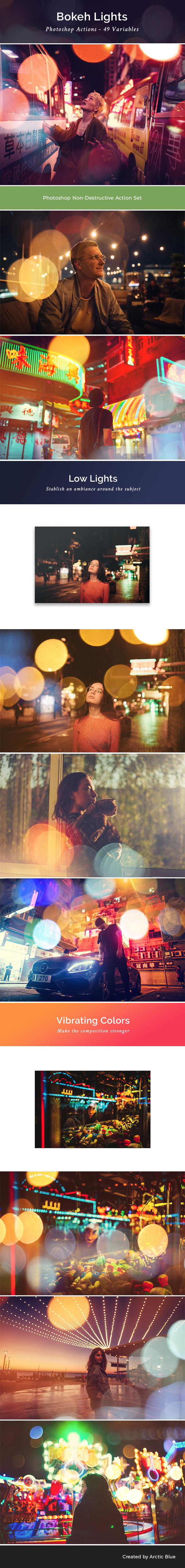 49 Bokeh Lights - Photo Effects Actions